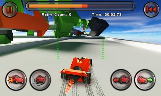 Jet Car Stunts Lite - screenshot thumbnail