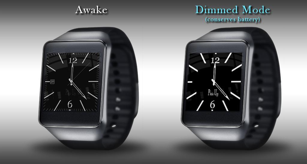 Watch Face PlkaUp Android Wear