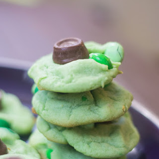 Pot-of-Gold Pistachio Pudding Cookies
