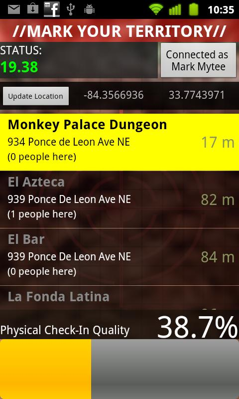 Mark Your Territory- screenshot