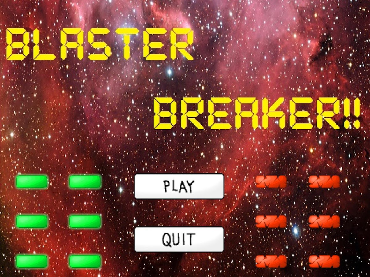 Blaster Breaker- screenshot