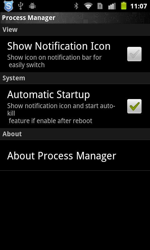 Process Manager - screenshot