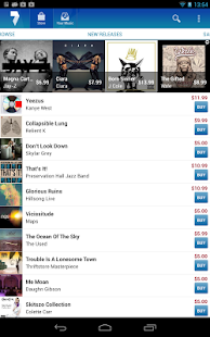 7digital Music Store - screenshot thumbnail