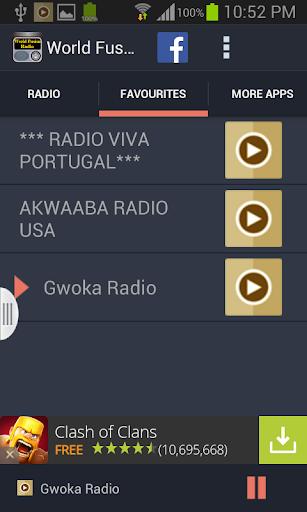 【免費音樂App】World Fusion Radio-APP點子