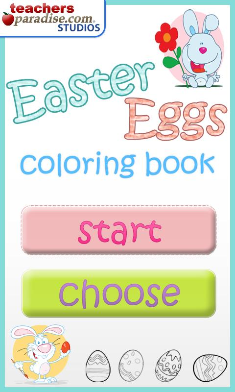 Easter Eggs Coloring - screenshot