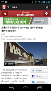 The St. Louis Business Journal - screenshot thumbnail