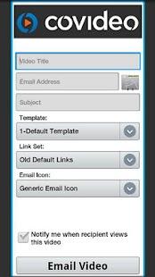 Covideo - Video Email- screenshot thumbnail