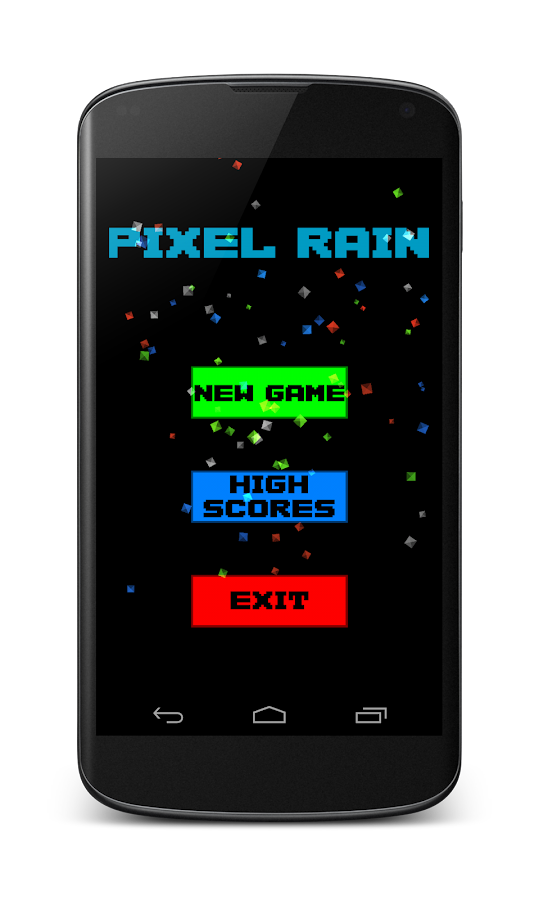Pixel Rain- screenshot