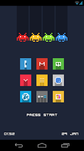 Pixelicious Icon Pack - screenshot thumbnail