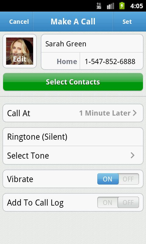 Mr Caller Free (Fake Call&SMS) - screenshot
