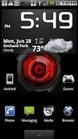 Screenshot of Droid X Eye Live Wallpaper