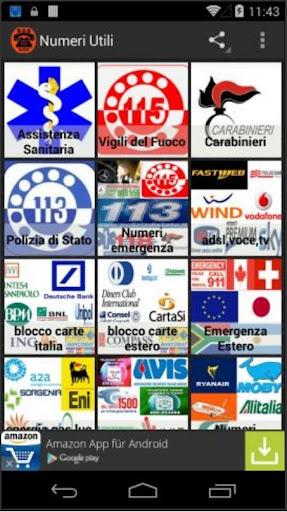 Numeri Utili e di emergenza