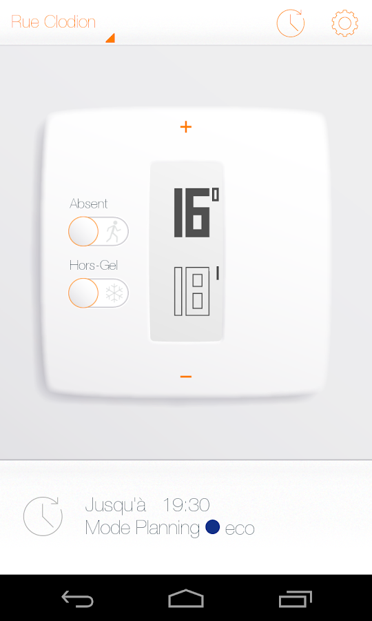 thermostat netatmo applications android sur google play. Black Bedroom Furniture Sets. Home Design Ideas