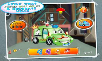 Screenshot of Ambulance Builder & Garage