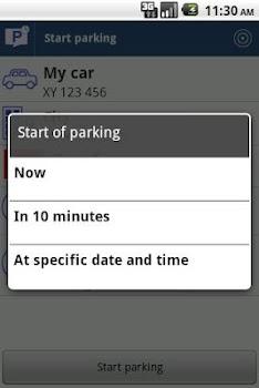 Parking SMS Scheduler