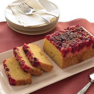 Cranberry-Cornmeal Quick Bread.