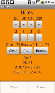 Basic Dice - screenshot thumbnail