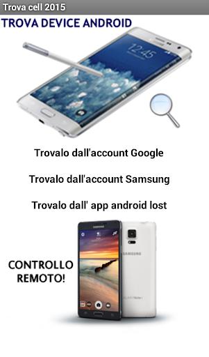 Trova cellulare - smartphone