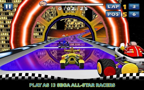 Descargar Descargar Sonic & SEGA All Stars Racing v1.0.1 apk y SD para android (2013)
