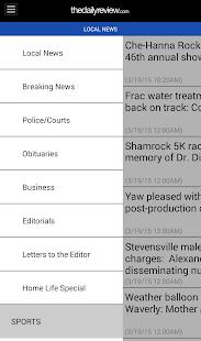 The Daily Review- screenshot thumbnail