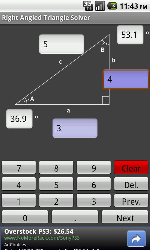 Download right angle triangle solver app for android screenshots of right angle triangle solver for iphone publicscrutiny Images