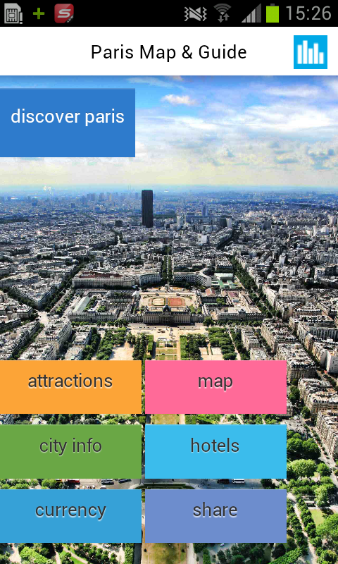 Paris Offline Map & Guide - screenshot