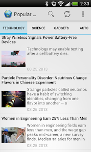 Science News- screenshot thumbnail