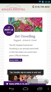 North Carolina Azalea Festival - screenshot thumbnail