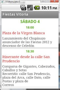 Fiestas Vitoria-Gasteiz 2012- screenshot thumbnail