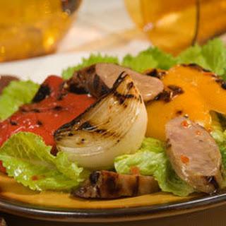 Italian Sausage & Peppers Salad