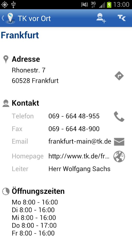 TK vor Ort - screenshot