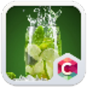 Lime in Glass C Launcher Theme icon