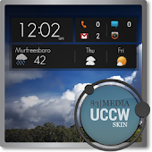 Google Now Dark UCCW Skin