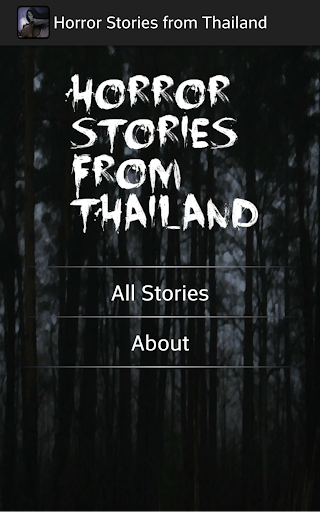 Horror Stories from Thailand