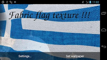 Screenshot of 3D Greece Flag Live Wallpaper