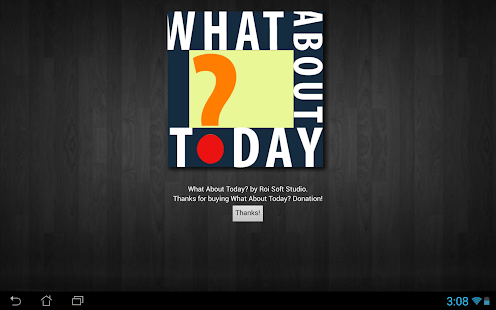 What About Today? - screenshot thumbnail