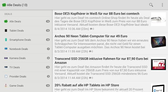 Translate deals