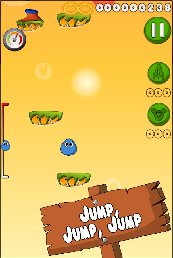 Jump Blob Jump 2 - screenshot