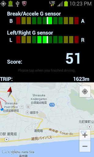 Driving G Monitor