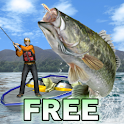 Bass Fishing 3D Free logo