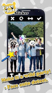 Face Photo Sticker: Wild Foto- screenshot thumbnail