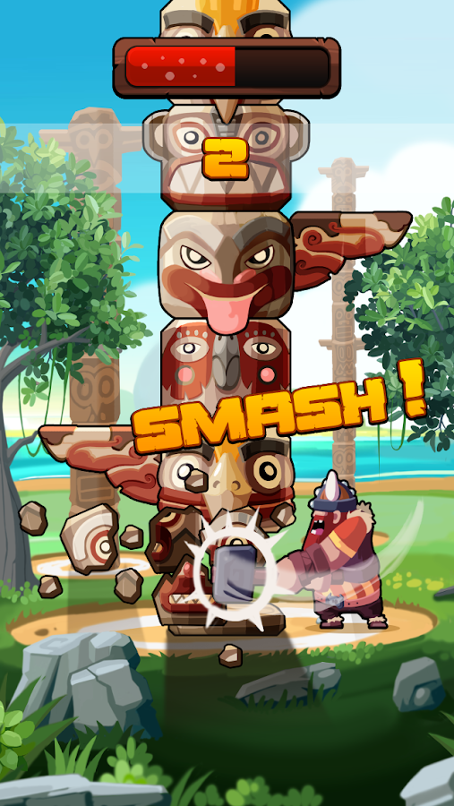 Totem Smash- screenshot