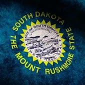 South Dakota Flag Live WP