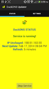 DuckDNS Client (Dynamic DNS)- screenshot thumbnail