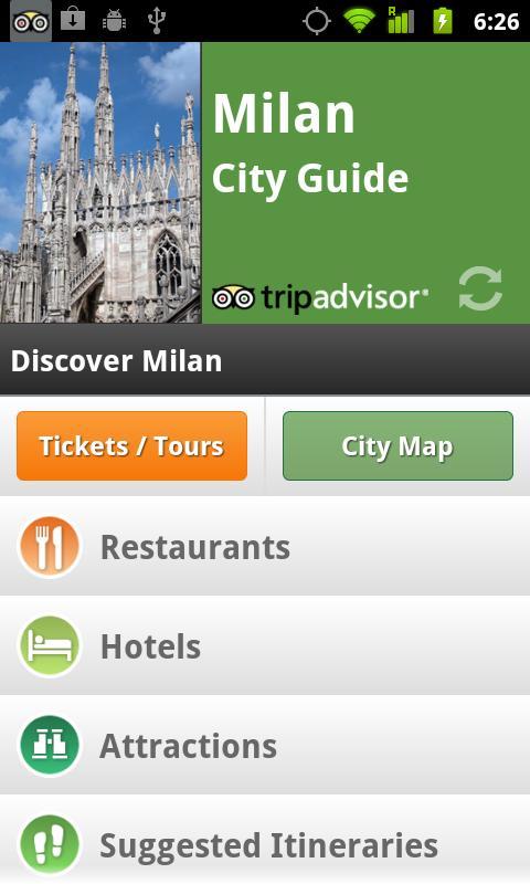 Milan City Guide screenshot #1