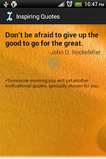 Daily Inspiring Quotes Free - screenshot thumbnail