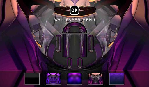 玩生活App|Digital Clock Android Purple免費|APP試玩