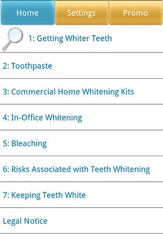 Top 7 Dental Apps - The Secrets of Whiter Teeth