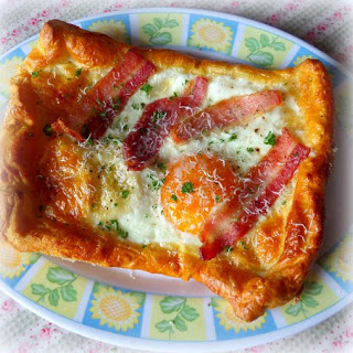 *Quick and Easy Bacon and Egg Tarts* Recipe