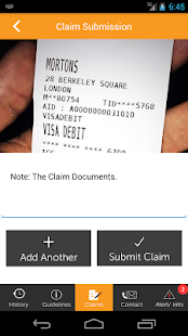 The Benefits Trust Claim App- screenshot thumbnail